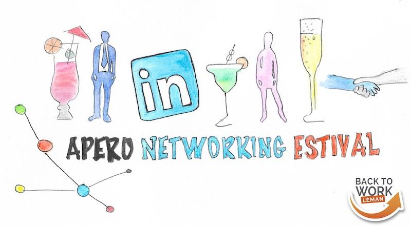 Apéro networking estival