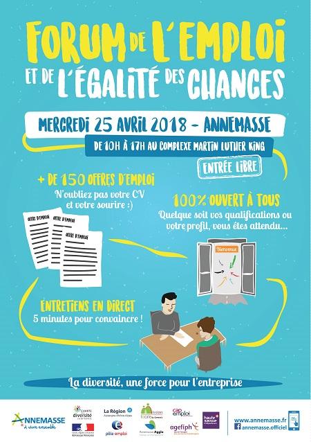 Mercredi 25 Avril Forum de l'Egalité des Chances