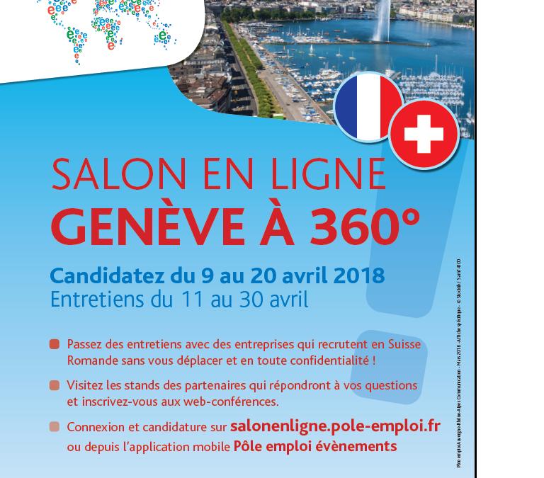 Salon des Carrières Internationales –  Genève à 360°c