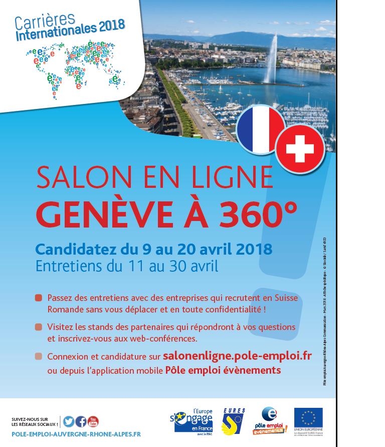 Salon Genève à 360°
