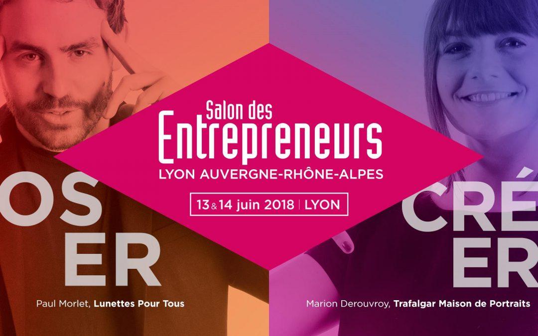 13 & 14 juin – Salon des Entrepreneurs de Lyon