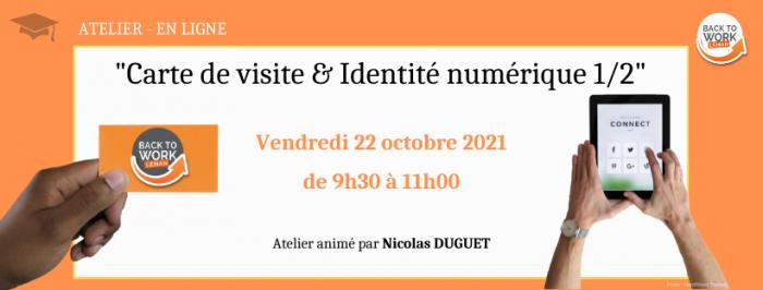{ATELIERS BTWL} Carte de visite & Identité numérique